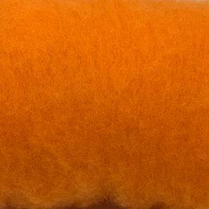 kardet ull oransje