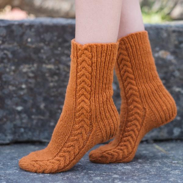 Flettefine sokker