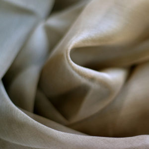 Silkechiffon, mellombrun (krepp) 5 m