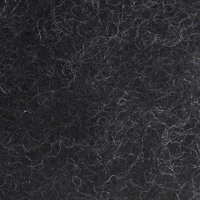 Kardet ull, koksgrå