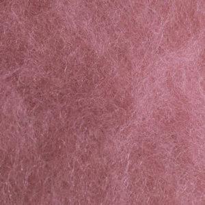 Kardet ull, rosa