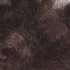 Farget Pelsull, brun