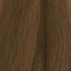 Merinoull Tops, lys sjokoladebrun