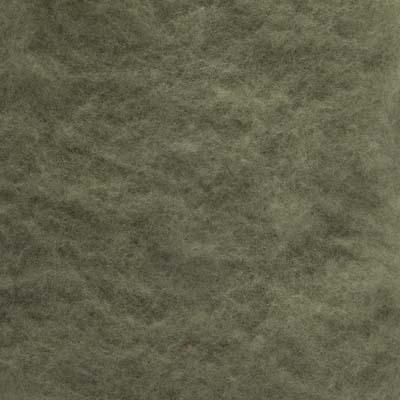 Kardet Supermerino, lys grågrønn