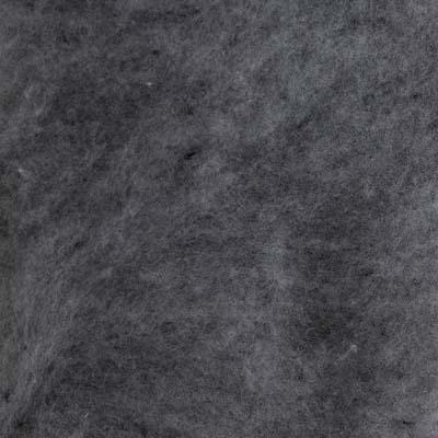 Kardet Supermerino, mørk grå