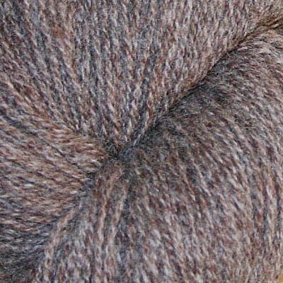 Ask -  Hifa 2 Ullgarn, melert brun