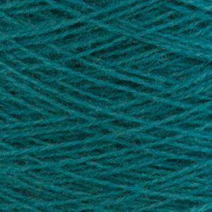 Ask - Hifa 2 Ullgarn, sjøgrønn - spolt