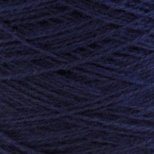 Ask - Hifa 2 Ullgarn, marineblå - spolt