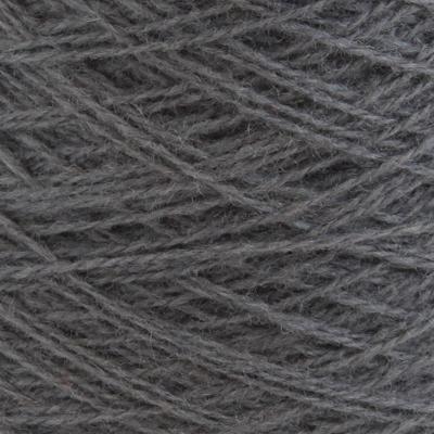 Ask - Hifa 2 Ullgarn, mørk grå - spolt