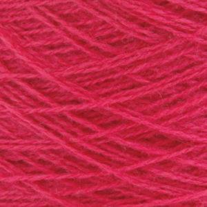 Ask - Hifa 2 Ullgarn, dyp rosa - spolt