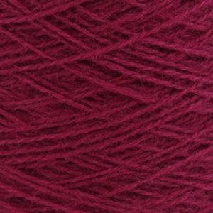 Ask - Hifa 2 Ullgarn, lys burgunder - spolt