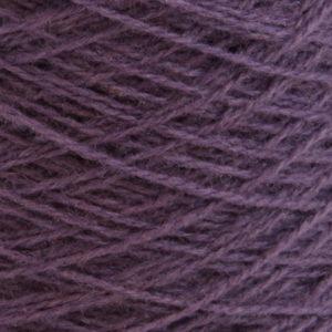 Ask - Hifa 2 Ullgarn, gråfiolett - spolt