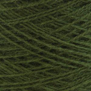 Ask - Hifa 2 Ullgarn, jaktgrønn - spolt