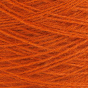 Ask - Hifa 2 Ullgarn,  terracottarød - spolt