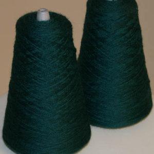 Huldra Kamgarn 8,5/2, mørk blålig grønn