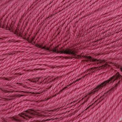 Frid - Vevgarn tynt, støvet mørk rosa