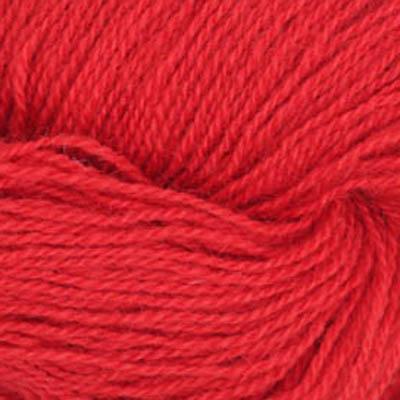 Frid - Vevgarn tynt, ren rød
