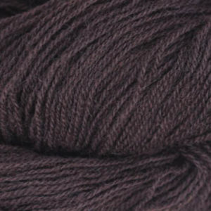 Frid - Vevgarn tynt, dyp mørkebrun