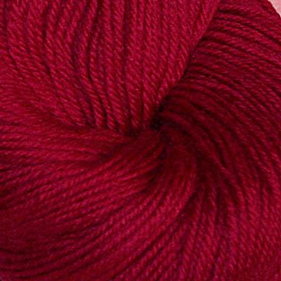 Hjerte - Superwash 12/4,  mørk roserød
