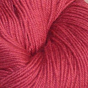 Hjerte - Superwash 12/4, støvet mørk rosa