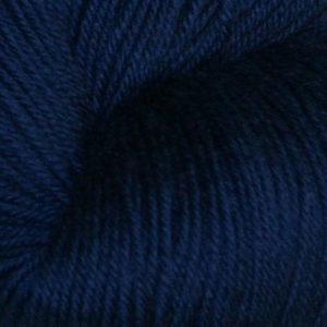 Hjerte - Superwash 12/4, lys marineblå
