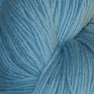 Hjerte - Superwash 12/4, varm lyseblå