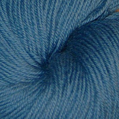 Hjerte - Superwash 12/4, lys bondeblå