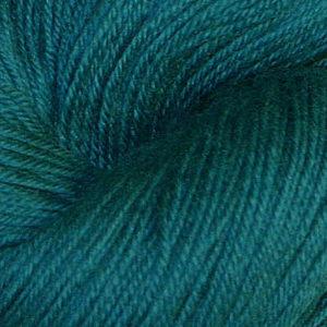 Hjerte - Superwash 12/4, sjøgrønn