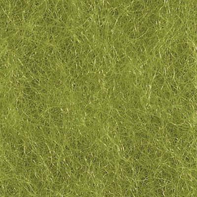 Kardet ull, gressgrønn