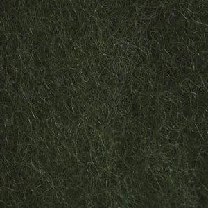 Kardet ull, mosegrønn