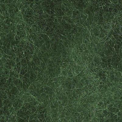 Kardet ull, grønn