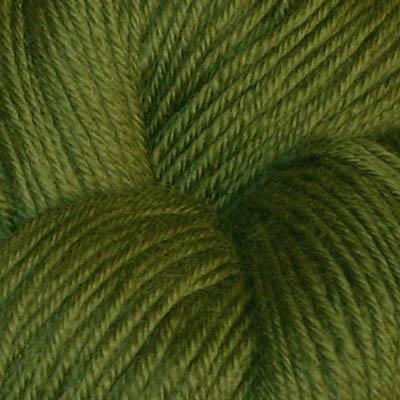 Hjerte - Superwash 12/4, olivengrønn