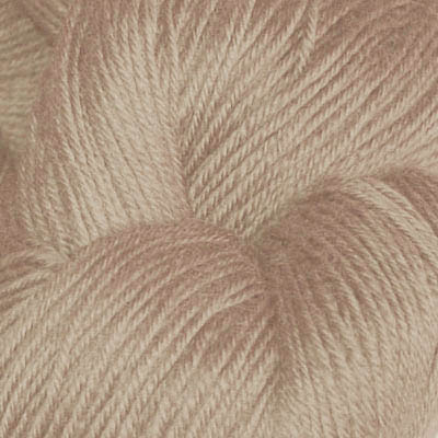 Hjerte - Superwash 12/4, beige
