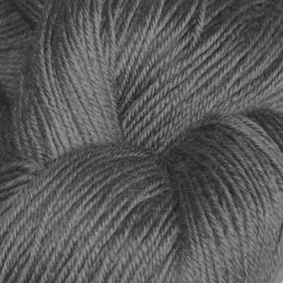 Hjerte - Superwash 12/4, mørk grå