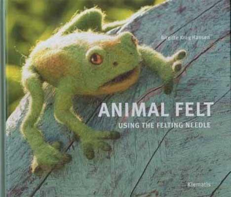 Animal felt using the felting needle - Birgitte Krag Hansen