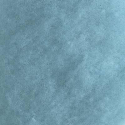 Kardet Supermerino, lys turkisgrønn