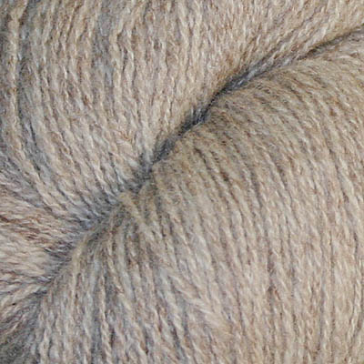 Ask -  Hifa 2 Ullgarn, melert lys brun