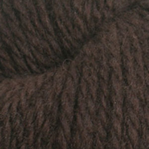 Trollgarn, mørk brun