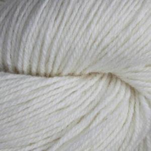 Fjell - Sokkegarn 3, bleket hvit