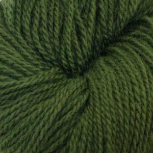Fjord - Sokkegarn 2, mørk grønn