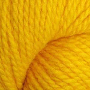 Trollgarn, varm gul