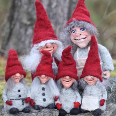 Røde nisser til jul...