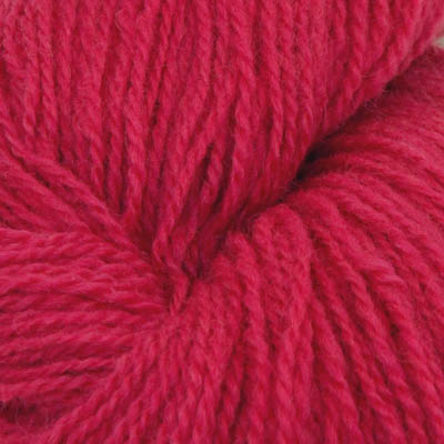 Fjord - Sokkegarn 2, dyp rosa