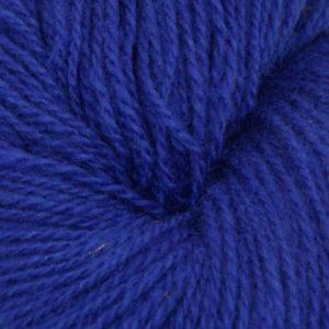 Fjord - Sokkegarn 2, kobolt blå