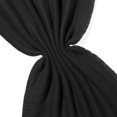 Nålefilt 120 cm - 100g/m, svart