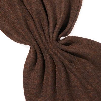 Nålefilt ull/silke 120 cm - 100g/m, svart/kobber
