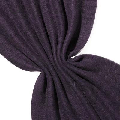 Nålefilt ull/silke 120 cm - 100g/m, svart/fiolett