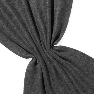 Nålefilt ull/silke 120 cm - 100g/m, svart/natur