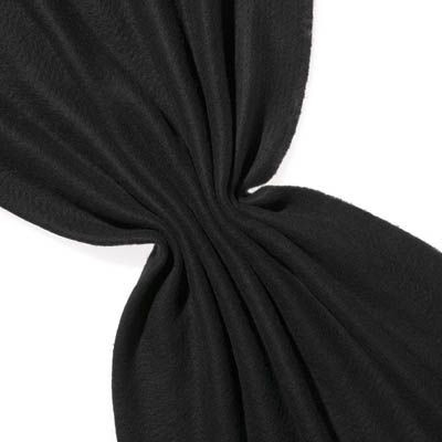 Nålefilt ull/silke120 cm - 100g/m, svart/svart