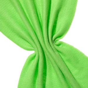 Nålefilt ull/silke 120 cm - 100g/m, neon grønn/neon grønn